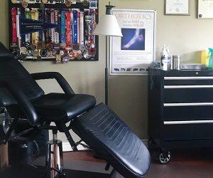 Custom Foot Clnic and Orthotic Centre Milton Treatment Room