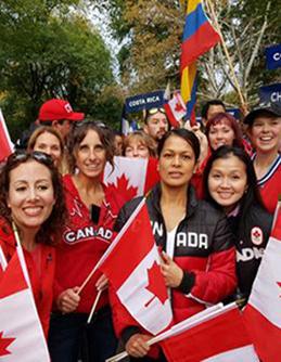 Trina Scarrow Chiropodist Marathon Runner Canada