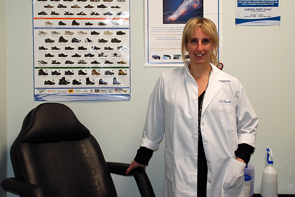 Trina Scarrow Chiropody Podiatry Orthotics Clinic Guelph and Milton